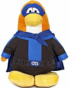 Disney Club Penguin 6.5 Inch Series 12 Plush Figure Shadow Guy {Version 3} [Includes Coin with Code!]