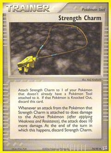 Pokemon Card Game EX Team Aqua-Team Magma Single Card Uncommon #74 Strength Charm