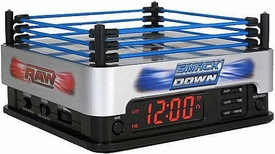 Ultimate WWE Wrestling Ringside Alarm Clock with AM / FM Radio