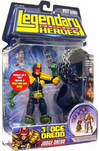 Legendary Heroes Marvel Toys Series 1 Action Figure Judge Dredd