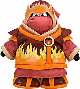 Disney Club Penguin 6.5 Inch Series 10 Plush Figure Fire Ninja [Includes Coin with Code!]