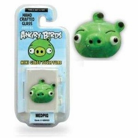 Angry Birds 1 Inch Glass Mini Figure Limited Edition Medpig