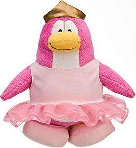 Disney Club Penguin 6.5 Inch Series 10 Plush Figure Ballerina [Includes Coin with Code!]