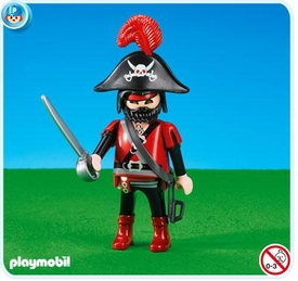 Playmobil Dragon Land Set #7974 Red Dragon Knights Leader