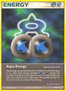 Pokemon Card Game EX Team Aqua-Team Magma Single Card Uncommon #86 Aqua Energy