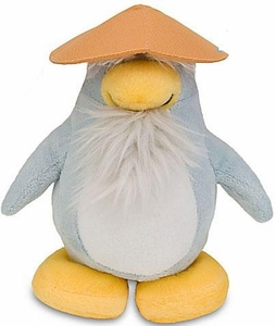 Disney Club Penguin 6.5 Inch Series 9 Plush Figure Sensei {Version 3} [Includes Coin with Code!]