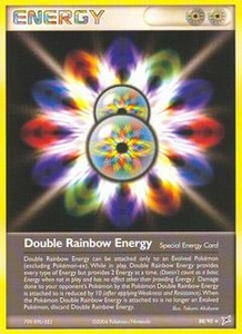 Pokemon Card Game EX Team Aqua-Team Magma Single Card Uncommon #88 Double Rainbow Energy
