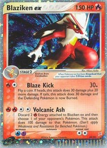 Pokemon Card Game EX Team Aqua-Team Magma Single Card Rare Holo EX #89 Blaziken ex