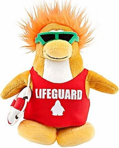 Disney Club Penguin 6.5 Inch Series 8 Plush Figure Lifeguard [Includes Coin with Code!]
