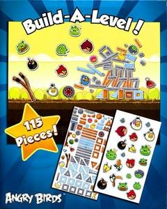 Angry Birds Magnetic Play Set Build-A-Level!