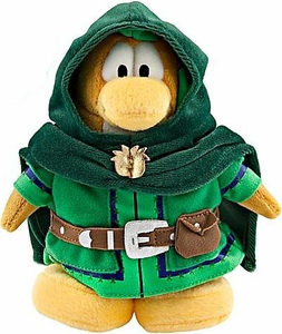 Disney Club Penguin 6.5 Inch Series 8 Plush Figure Ranger [Includes Coin with Code!]