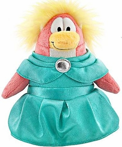 Disney Club Penguin 6.5 Inch Series 8 Plush Figure Prom Girl [Includes Coin with Code!]