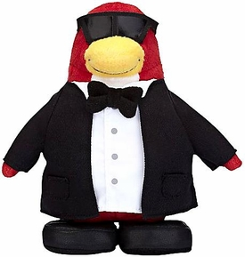 Disney Club Penguin 6.5 Inch Series 7 Plush Figure Secret Agent [Includes Coin with Code!]