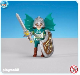 Playmobil Dragon Land Set #7972 Green Dragon Knights Leader