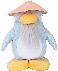 Disney Club Penguin 6.5 Inch Series 6 Plush Figure Sensei {Version 2} [Includes Coin with Code!]