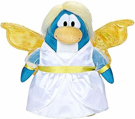 Disney Club Penguin 6.5 Inch Series 5 {Holiday} Plush Figure Snow Fairy [Includes Coin with Code!]