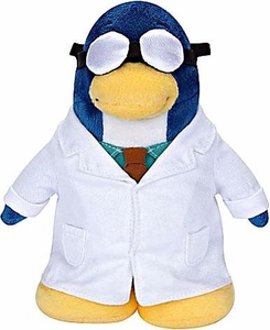 Disney Club Penguin 6.5 Inch Series 5 Plush Figure Gary the Gadget Guy {Version 2} [Includes Coin with Code!]