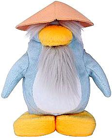 Disney Club Penguin 6.5 Inch Series 4 Plush Figure Sensei {Version 1} [Includes Coin with Code!]