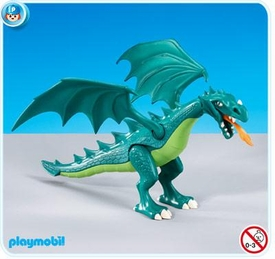 Playmobil Dragon Land Set #7481 Green Dragon