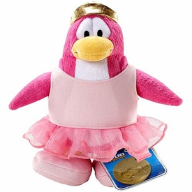 Disney Club Penguin 6.5 Inch Series 2 Plush Figure Ballerina [Includes Coin with Code!]