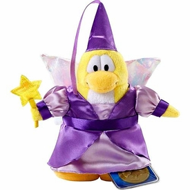 Disney Club Penguin 6.5 Inch Series 2 Plush Figure Fairy {Purple Dress} [Includes Coin with Code!]
