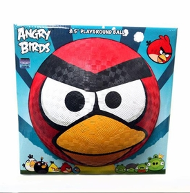 Angry Birds 5 Inch Rubber Playground Ball Red Bird