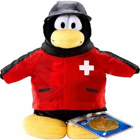 Disney Club Penguin 6.5 Inch Series 2 Plush Figure Rescue Squad [Includes Coin with Code!]