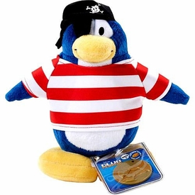 Disney Club Penguin 6.5 Inch Series 2 Plush Figure Shipmate {Version 1} [Includes Coin with Code!]