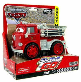 Disney / Pixar CARS Movie Shake n' Go Toy Figure Red