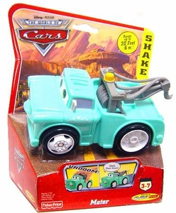 Disney / Pixar CARS Movie Shake n' Go Toy Figure Teal {Brand New} Mater [Random Package]