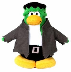 Disney Club Penguin 6.5 Inch Series 1 Plush Figure Frankenpenguin {Version 1} [Includes Coin with Code!]
