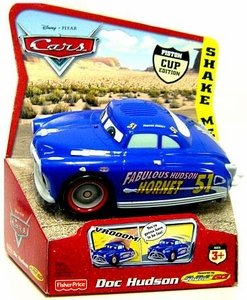 Disney / Pixar CARS Movie Shake n' Go Toy Figure Fabulous Hudson Hornet