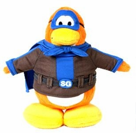 Disney Club Penguin 6.5 Inch Series 1 Plush Figure Shadow Guy {Version 1} [Includes Coin with Code!]