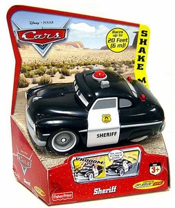 Disney / Pixar CARS Movie Shake n' Go Toy Figure Sheriff
