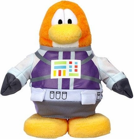 Disney Club Penguin 6.5 Inch Series 15 Plush Figure Astronaut [Includes Coin with Code!]