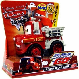 Disney / Pixar CARS Movie Shake n' Go Toy Figure Rescue Squad Mater