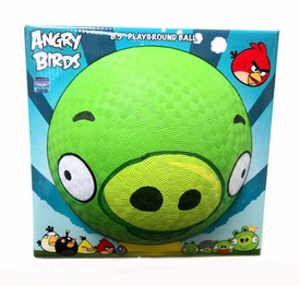 Angry Birds 5 Inch Rubber Playground Ball Pig