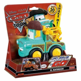 Disney / Pixar CARS Movie Shake n' Go Toy Figure El Materdor