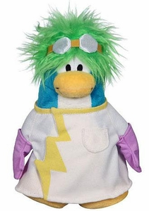 Disney Club Penguin 6.5 Inch Series 15 Plush Figure Rad Scientist [Includes Coin with Code!]