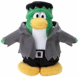 Disney Club Penguin 6.5 Inch Series 15 Plush Figure Frankinpenguin [Includes Coin with Code!]