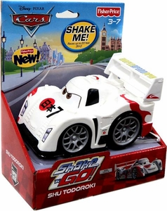 Disney / Pixar CARS 2 Movie Shake n' Go Toy Figure Shu Todoroki