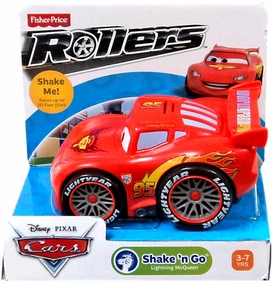 Disney / Pixar CARS Movie Shake n' Go Toy Figure Lightning Mcqueen [Repackage]