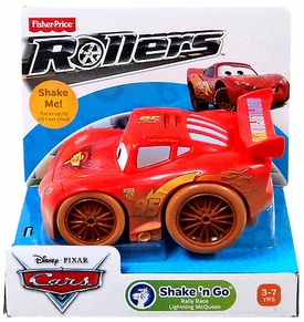 Disney / Pixar CARS Movie Shake n' Go Toy Figure Rally Race Lightning Mcqueen [Repackage]