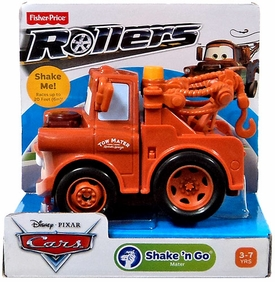 Disney / Pixar CARS Movie Shake n' Go Toy Figure Mater [Repackage]