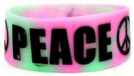 BAND2gether Bands Rubber Wristband Bracelet Peace