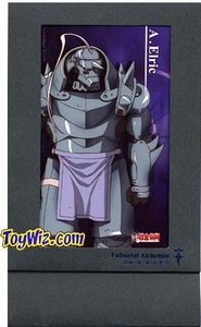Fullmetal Alchemist Accessories Collectible Carstock Postcard Frame with Alphonse Elric Postcard