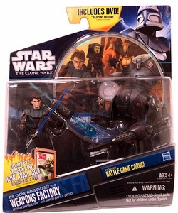 Star Wars 2011 Clone Wars Exclusive DVD Action Figure 2-Pack Weapons Factory [Anakin Skywalker & Super Battle Droid]