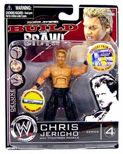WWE Wrestling Build N' Brawl Series 4 Mini 4 Inch Action Figure Chris Jericho
