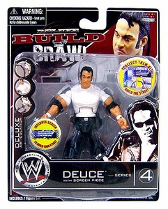 WWE Wrestling Build N' Brawl Series 4 Mini 4 Inch Action Figure Deuce