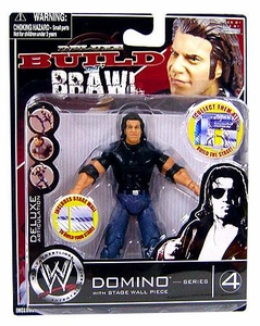 WWE Wrestling Build N' Brawl Series 4 Mini 4 Inch Action Figure Domino